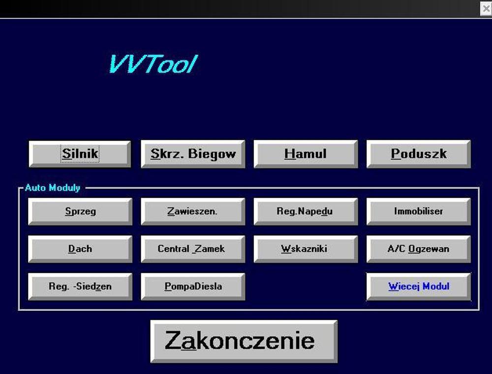 Inteligentny Interfejsy OBD2: Interfejs OBD2 VAG K+CAN 1.4 COMMANDER USB CD88